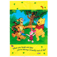 Winnie The Pooh Playtime Favor Bags (8) ~ Birthday Party Supplies Treat Loot