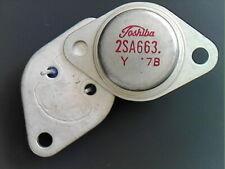 1 pc 2SA663 PNP TO-3 Toshiba
