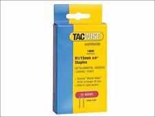 Tacwise - 91 Narrow Crown Staples 15mm - Electric Tackers Pack 1000