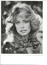 Farrah Fawcett-- signed photo- JSA COA - Pose 88