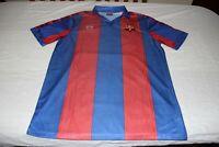 CAMISETA DEL F.C BARCELONA DEL AÑO 1984 MEYBA TALLA L DEL Nº 10 MARADONA SHIRT