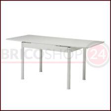 Tavolo Bianco 110 170 x 70 da Cucina Pranzo Estensibile Allungabile Prolunga