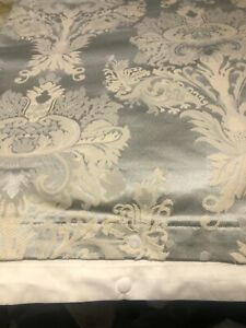 DORMA MARCEL KING SIZE DUVET COVER DAMASK JACQUARD BEAUTIFUL CONDITION