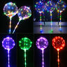 "20"" LED String Light With Transparent Helium Balloons Christmas Wedding Decor BJ"