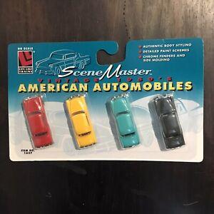 LIFE-LIKE SceneMaster - HO Scale - VTG 1950's American Automobiles - No. 1657