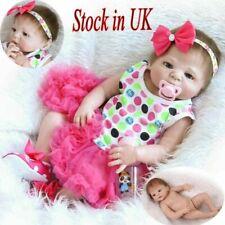 Npk Full Body Silicone Reborn Doll Sleepping Boy Baby Child Xmas Gifts