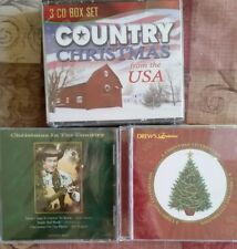 Country Christmas cds