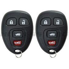 Fits 2005-2006 Buick Lacrosse Keyless Entry Remote Car Key Fob 22733523 2x