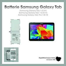 "Batterie Samsung Galaxy Tab 1/2/3/4/S Pro 7""/8""/10"" NEUVE QUALITE ORIGINAL"