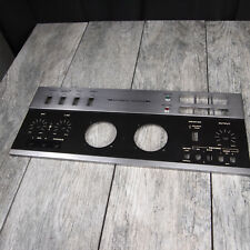 Teac A-6300 Reel to Reel - Bottom Front Metal Panel Cover Faceplate - Genuine