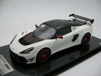 1/18 scale Tecnomodel Lotus Exige 380 Cup Gloss White 2018 TM18-112C
