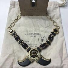 AllSaints Lakota Claw Choker Necklace In Dark Rust. Tribal Statement Piece.
