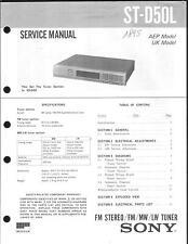 Sony Original Service Manual für ST-D 50L