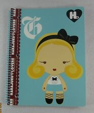 "Harajuku Lovers Spiral Notebook Gwen Stefani 8""x10.5"" 70 Sheets NEW NWT SET Of 3"