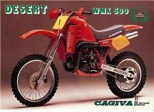 1984 Cagiva WMX 500 Desert original sales brochure
