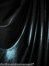 Dance Costume Lycra Fabric Black Fog/Mystique 50cm - 150cm wide