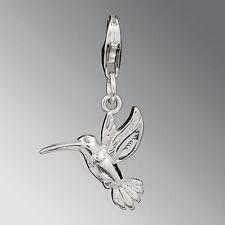 Sehr eleganter Silberanhänger - Charms - KOLIBRI - Sterlingsilber 925er