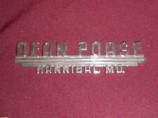 Chevy Buick Cadillac Hannibal MO dealership badge emblem metal car auto sales