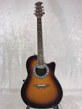 Ovation 1771-1 Balladeer Refurbished Acoustic/Electric Guitar – Sunburst