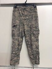 USGI US ARMY COMBAT UNIFORM ACU BOTTOM PANTS TROUSERS SIZE MEDIUM X-SHORT VGC
