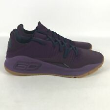 Under Armour Curry 4 Basketball Shoes Men's Size 13 Purple 3000083 500