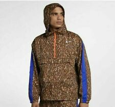 Mens Nike Repel Anorak Track Running Jacket BQ8185-786 Wheat Gold Size XXL