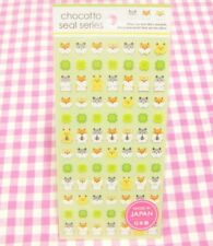 GAIA / Clover & Hamster Sticker Sheet / Made in Japan Stationery