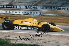 Arturo Merzario Firmato a Mano 12x8 photo formula 1 f1 1.
