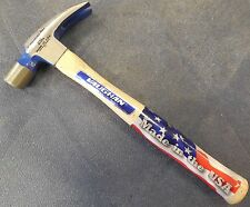 """VAUGHAN 999 20 oz. Smooth Face Rip Hammer w/ 14"""" Hickory Handle, NEW, USA"""