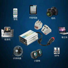 12V DC to AC 220V Car Auto Power Inverter Converter Adapter Adaptor 200W USB IT