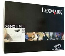 Lexmark Genuine/Original Laser Printer Toner Cartridge X654X11P X654/X656/X658