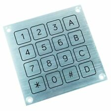4x4 Aluminium Piezo Keypad Switch IP68 KPF44