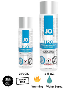 🔥 JO H2O WARMING ORIGINAL Lubricant Water Based Personal Sex Lube