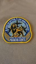 Patch France C130 école de l'air 2018 Franche-Comté Hercules armée de l'air