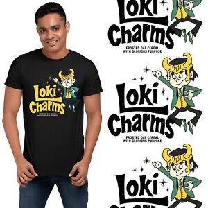 Loki Oat Cereals Nostalgia Retro Pack T-Shirt Kids Adults Marvel TVA Funny