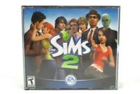 The Sims 2 PC 2004 Jewel Case 3 Discs Game EA Games Missing Disc 1