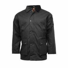 Mens Wax Jacket Sizes S - 3XL Waxed Cotton Jackets Waterproof Shooting Coats UK