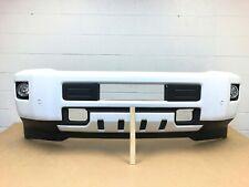 2015-2019 chevy silverado 2500-3500 front bumper with sensors (summit white) #13