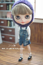 Blythe Doll Outfit Clothing Blue Color overalls