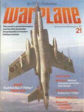 WARPLANE  #21 Sukhoi Su-7 Fitter, British Aerospace 125, 146, 748, Buccaneer