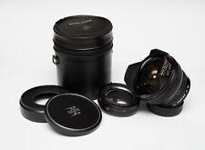 Sigma-XQ Filtermatic Fishye 16mm f/2.8 lens YS/T2 mount Konica Pentax K adapters
