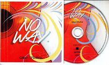 GILBERT O'SULLIVAN No Way 2015 UK 1-track promo CD