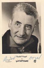 Rudolf Vogel+ - original signierte Autogrammkarte HOPP HOPP CONNY