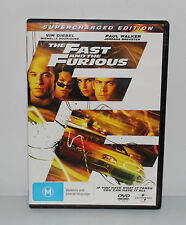 2 FAST 2 FURIOUS DVD REGION 4 GREAT CONDITION