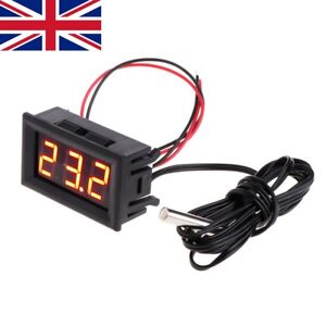 -50 ~ 110 °c Digital LED Thermometer DC 5-12V Car Temperature Panel Meter Gauge