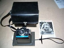 Vintage Polaroid Color Pack II Land Camera With Case & Booklets, Preowned