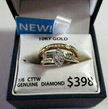 10K Gold Diamond Bridal Set