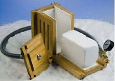 NEW Scilogex DILVAC Dry Ice Maker w/ Pressure Hose and Pressure Gauge