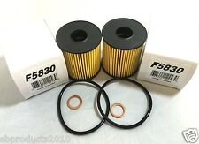 2pc Engine Oil Filter Kit MADE IN KOREA F5830 Fits: Mini·Cooper