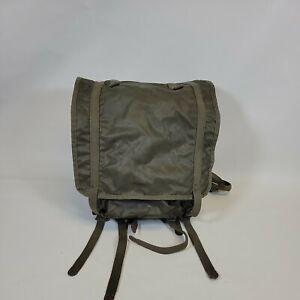 VINTAGE French Military Nylon Rucksack Backpack